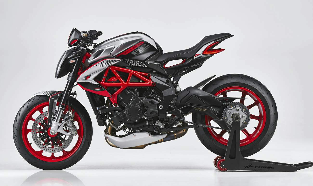 MV Agusta Dragster 800RC SCS technical specifications